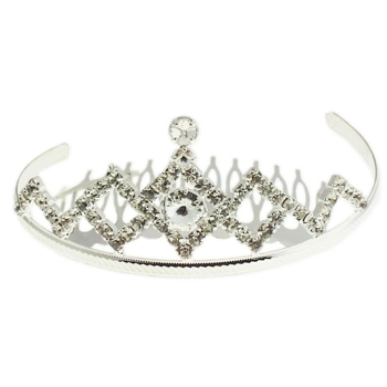 Karen Marie - Bridal Collection - Crystal Diamond Tiara (1)