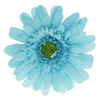 Karen Marie - Le Fleur Collection - Medium Daisy Clip - Aqua (1)