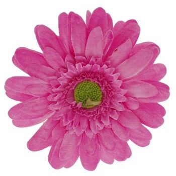 Karen Marie - Le Fleur Collection - Medium Daisy Clip - Hot Pink (1)