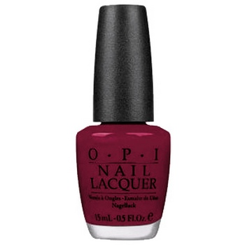 O.P.I. - Nail Lacquer - Decked Out In Red - Wrapped Up In Red Collection .5 fl oz (15ml)
