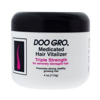 Doo Gro - Hair Vitalizer - Triple Strength for Severely Damaged Hair - 4 oz.