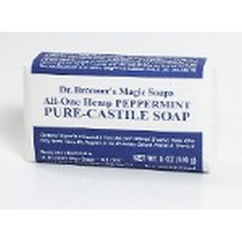 Dr. Bronner's - Peppermint Bar Soap - 5 Oz