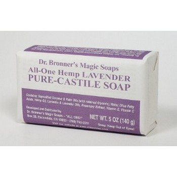 Dr. Bronner's - Lavendar Bar Soap - 5 oz