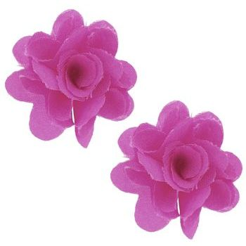 SOHO BEAT - Spanish Soiree - Festive Blossom Earrings - Fuchsia