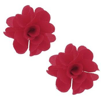 SOHO BEAT - Spanish Soiree - Festive Blossom Earrings - Scarlet