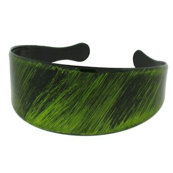 HB HairJewels - Lucy Collection - Brushed Metallic Inspired Headband - Rainforest Green