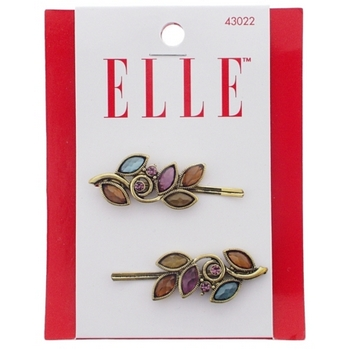 Elle & Elle Girl - Glass Vine Antique Bobbies (Set of 2)