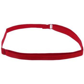 HB HairJewels - Lucy Collection - Bra Strap Headband - Cherry Red (1)