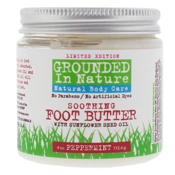 Grounded in Nature - Soothing Foot Butter - Peppermint 4 oz
