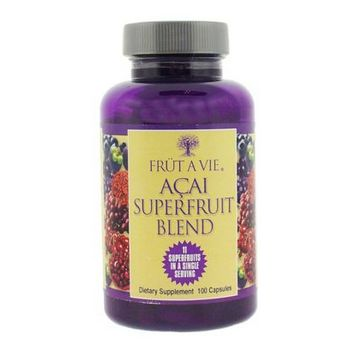 Fruitology - Frut A Vie - Acai Superfruit Blend - Dietary Supplement - 100 Vegicaps