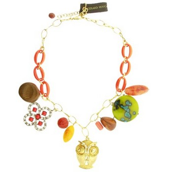 Gerard Yosca - Multi Charms On Chain Necklace (1)