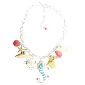 Gerard Yosca - Multi Sea Charms on Chain Necklace (1)