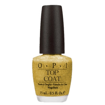 O.P.I. - Nail Lacquer - Glitter Bit Of Music Top Coat - Holiday In Harmony Collection .5 fl oz (15ml)