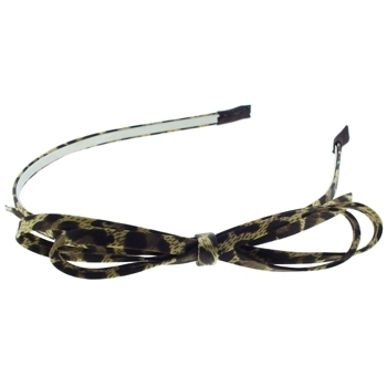 Medusa's Heirlooms - Cheetah Bow Headband - Golden (1)