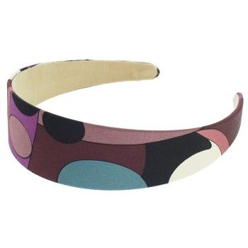 Karen Marie - Abstract Satin Headband - Mauve (1)