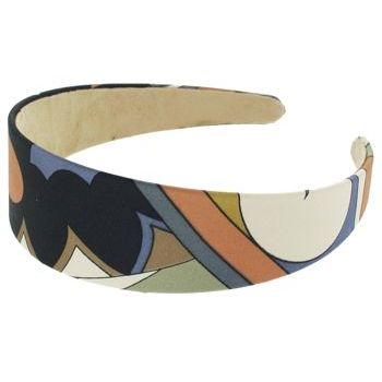 Karen Marie - Abstract Satin Headband - French Blue (1)