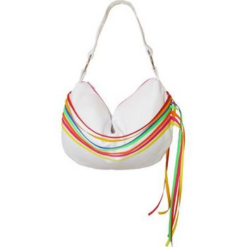 Amici Accessories - Fantasy Hobo - White w/ Ribbons