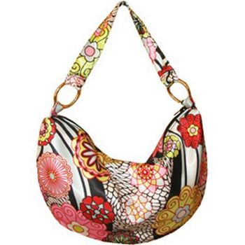 Amici Accessories - Honolulu Hobo - Poly Charmeuse - Multi-Hues