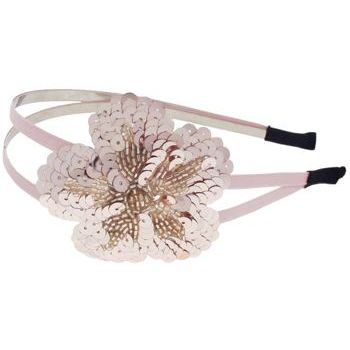 Juko - Double Band w/Sequin Flower Headband - Rose (1)