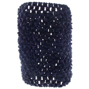 HB HairJewels - Lucy Collection - XWide - OpenWeave Headband - Navy Blue (1)