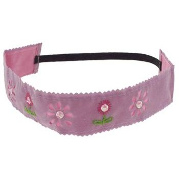 HB HairJewels - Lucy Collection - Faux Velour Prairie Bandeau - Lavender (1)