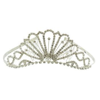 Karen Marie - Bridal Collection - Crystal Princess Tiara (1)