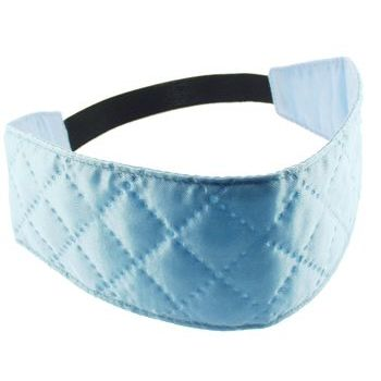 HB HairJewels - Lucy Collection - Quilted Inspired Headwrap - Sky Blue (1)
