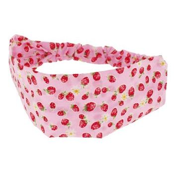 HB HairJewels - Lucy Collection - Strawberry Patch Bandeau - Pink (1)