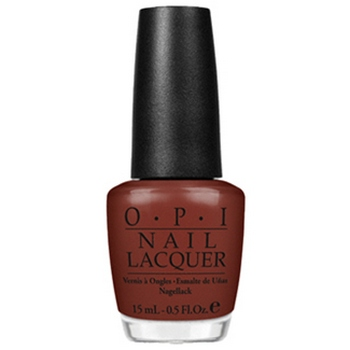 O.P.I. - Nail Lacquer - I'm Suzi And I'm A Chocoholic - Swiss Collection .5 fl oz (15ml)