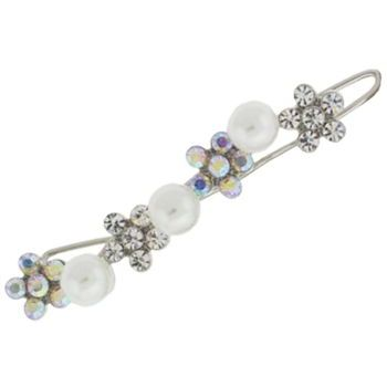 Karen Marie - Bridal Collection - Barrette - Pearls & Crystals