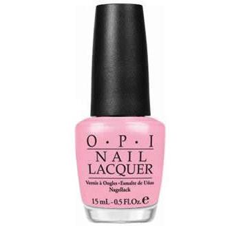 O.P.I. - Nail Lacquer - I Think In Pink - Pink Softshades Collection .5 fl oz (15ml)
