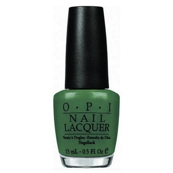 O.P.I. - Nail Lacquer - Jade Is The New Black - Hong Kong Collection .5 fl oz (15ml)
