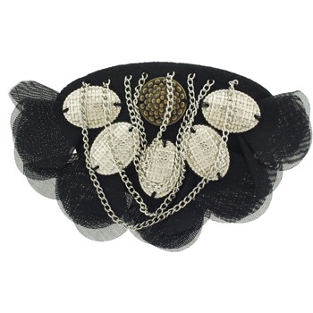Karina - Studs & Chains Barrette  (1)