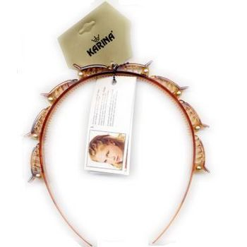 Karina - Twist n Clip Headband - Tort (1) - All Sales Final