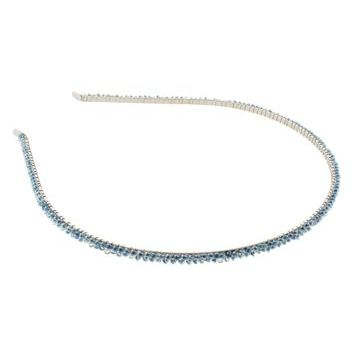 Karina - Beaded Headband - Blue (1) - All Sales Final