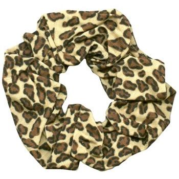 Karina - Cotton Scrunchie - Leopard (1) - All Sales Final