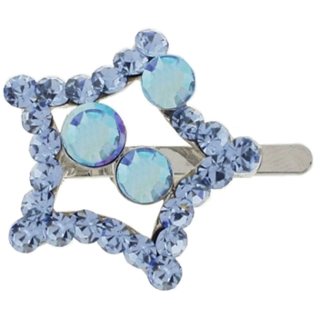 Karen Marie - Star Diamond Clip -  Light Sapphire Blue (1)