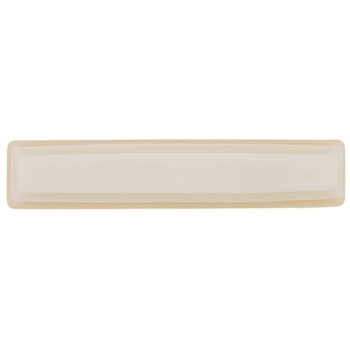 Karen Marie - Candy Coated Lined & Layered Barrette - Light Caramel Cream (1)