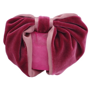 Karen Marie - Snood Collection - Velvet & Satin - Rose