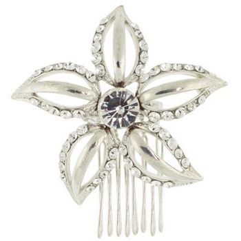 Karen Marie - Bridal Collection - Crystal Starfish Side Comb (1)