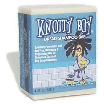 Knotty Boy - Dread Shampoo Bar - 4 oz bar (1)