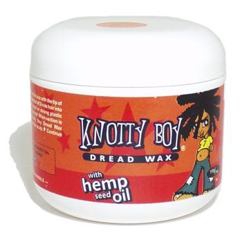 Knotty Boy - Dread Wax - For Blonde & Light Hair - 4 oz