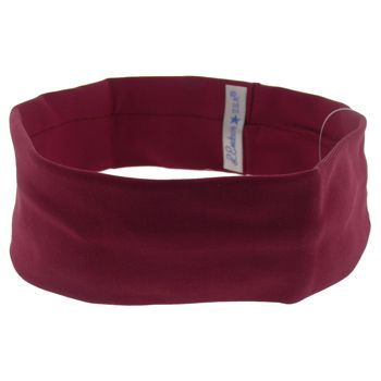 L. Erickson USA - Narrow French Lycra Bandeau Headband - Cabernet (1)