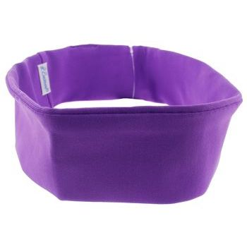L. Erickson USA - Narrow French Lycra Bandeau Headband - Purple (1)