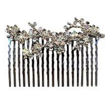 Betty Wales - Crystal Hair Comb (1)