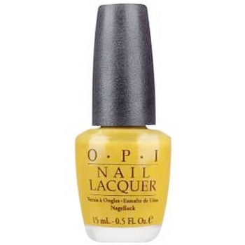 O.P.I. - Nail Lacquer - Lemonade Stand By Your Man - Retro Fun In The Sun Collection .5 fl oz (15ml)