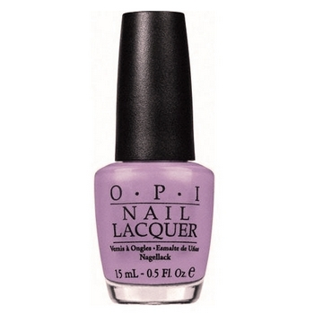 O.P.I. - Nail Lacquer - Lucky Lucky Lavender - Hong Kong Collection .5 fl oz (15ml)