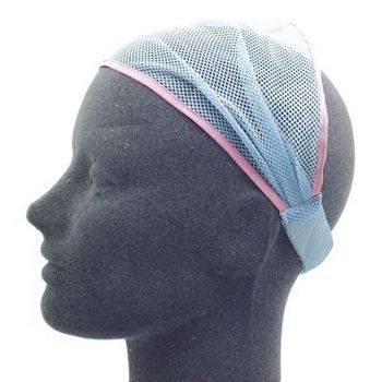 HB HairJewels - Lucy Collection - Net Soft Headband - Blue (1)
