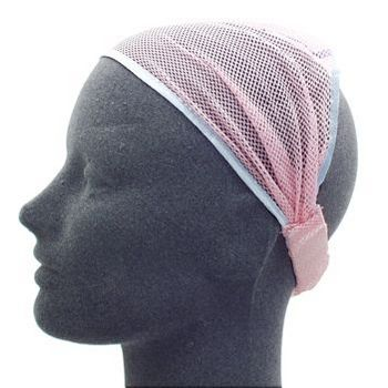 HB HairJewels - Lucy Collection - Net Soft Headband - Pink (1)