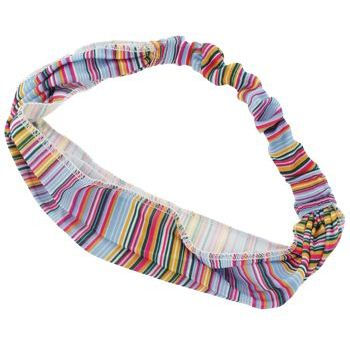HB HairJewels - Lucy Collection - Sheer Tiny Stripe Soft Headband - Blue (1)